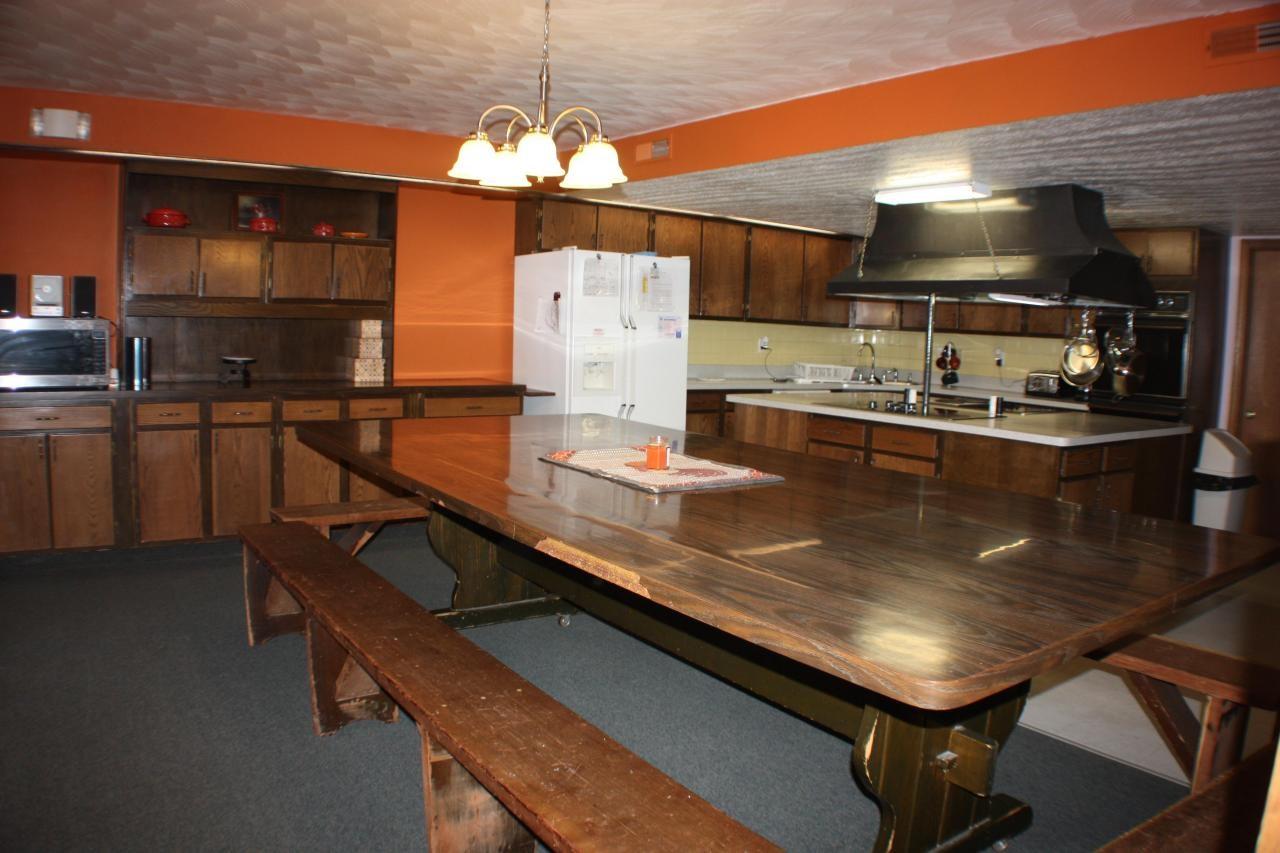 community kitchen space