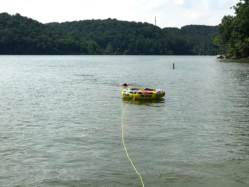 water tubing